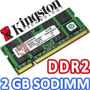 Memoria Kingston Ddr2 2gb 667 Mhz Para Portatil