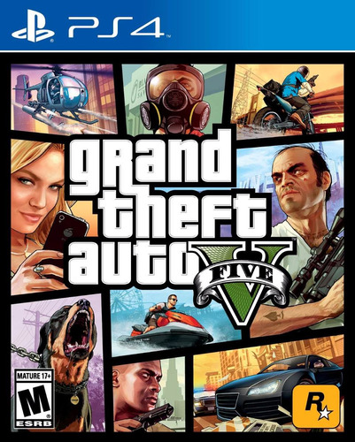 Grand Theft Auto V  -- Gta 5 -- Gta V -- Playstation 4