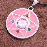 Sailor Moon Colgante Y Aretes Crystal Star Locket Anime Cosp