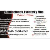 Animacione,sonido,karaoke,parrilladas Y De Mas Pablo Peña