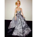 Linda Barbie Con Vestido De Gala