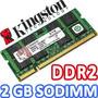 Memoria Kingston Ddr2 2gb 667 Mhz Para Portatil