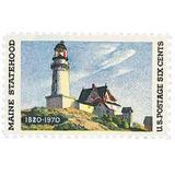 Us Sc #1391 - 1970 6c Maine Statehood Con Matasello.