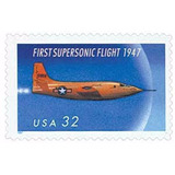 Us Sc #3173 - 1997 32c First Supersonic Fligh Con Matasello.