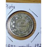 Moneda De Costa Rica 25 Centavos A 50 Centimos 1892-1923 Jmg