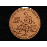 2009 P. 1 Centavo De Dolar Bincentenario Lincoln Años Forma.