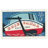Us Sc #1325 - 1967 5c Erie Canal Con Matasello.