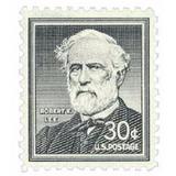 Us Sc #1049 - 1955 30c Robert E. Lee Con Matasello.