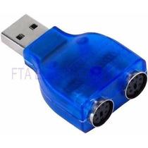 Convertidor De Usb A Ps2 Para Teclado O Mouse