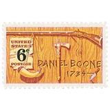 Us Sc #1357 - 1968 6c Daniel Boone Con Matasello.