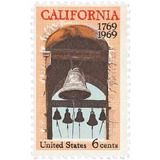 Us Sc #1373 - 1969 6c California Settlement Con Matasello.