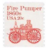Us Sc #1908 - 1981 20c Fire Pumper 1860's Coi Con Matasello.