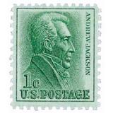 Us Sc #1209 - 1963 1c Andrew Jackson Con Matasello.