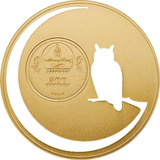 Mongolia - 2016 500 Togrog Moneda De Plata De 1/2 Oz Y Oro.