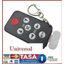 Control Remoto Mini Universal Tv Negro Llavero Panta Lcd Led