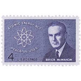 Us Sc #1200 - 1962 4c Sen. Brien Mcmahon Con Matasello.