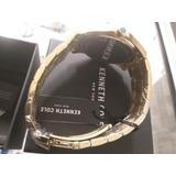Reloj Kenneth Cole Color Oro Original Nuevo