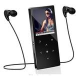 Reproductor De Música Mp3 De 16gb Con Bluetooth Y Radio Fm