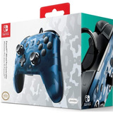 Control Nintendo Switch Face Off Azul Camuflado