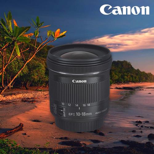 Lente Canon Ef-s 10-18mm F/4.5-5.6 Is Stm - Inteldeals