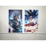 Cuadros De Dragon Ball Super 38x65 Cm