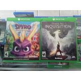 Juegos  De Xbox  One .usados  Encomiendas