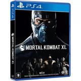 Mortal Kombat Xl Ps4 Formato Fisico Juego Playstation 4