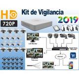 Sistema Vigilancia Hikvision 16 Cámaras Hd 720p 1tb 305.8m