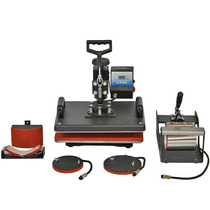 Impresora Y Plancha 5 En 1 Para Sublimación Y Transfer,tasas
