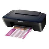 Impresora Canon Multifuncional E402 Color Fotocopia Y Escane