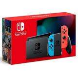 Nintendo Switch Neon New Version Hac-001(-01)