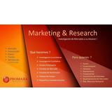 Estudios De Mercado Y Estudios De Factibilidad