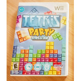 Juego Wii Tetris Party Deluxe