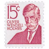 Us Sc #1288 - 1968 15c Oliver Wendell Holmes Con Matasello.