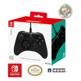 Nintendo Switch HoriPad Wired Controller Negro-tienda Luigi