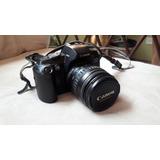 Cámara Canon Eos 5000, Con Lente Ultrasonic 28-105