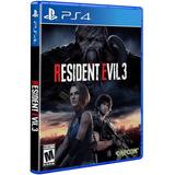 Resident Evil 3 Remake Para Ps4-- 100% Original