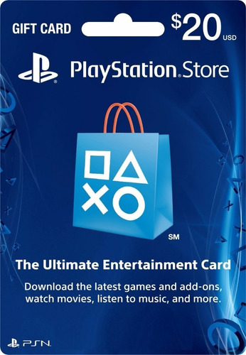 $20 Psn Card [código Digital]