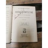 Libro Firmado Luis Dobles Segreda 1903 - Obras Shakespere