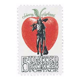 Us Sc #1317 - 1966 5c Johnny Appleseed Con Matasello.