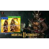Mortal Kombat 11 Ps4 En Fisico Nuevo Ya Entregas