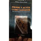 Libro Piense Y Actue Como Ganador