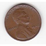 1946 P Lincoln 1 Centavo De Dolar Wheat Penny. U.s.a.