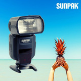 Flash Automatico Ttl Sunpak Df4000u Canon Nikon - Inteldeals
