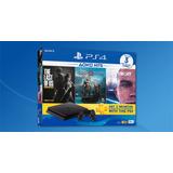 Consola Ps4 Playstation 4 Slim 1tb + 3 Juegos Techmovil