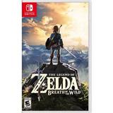 Zelda Breath Of The Wild Juego Nintendo Switch Físico