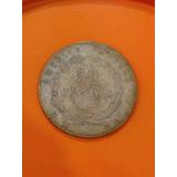 Moneda De Costa Rica Antigua De Plata 50 Centavos 1880 Jmg