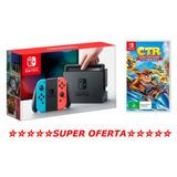 Nintendo Switch 32gb Con Crash Nuevo Tienda Gamers *_*