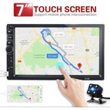 Pantalla Carro Touch Screen Con Camara Reversa
