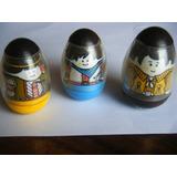 3 Muñecos Porfiados Vintage